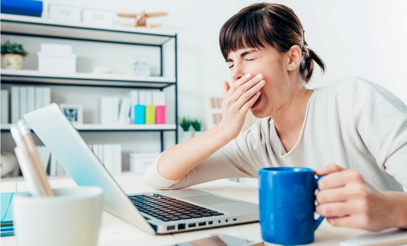 Усталость снижает производительность
